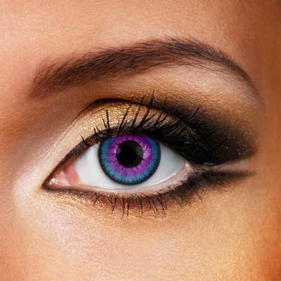 Funlenzen Galaxy Eye, paars, 3 maanden draagbaar