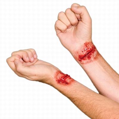 Woochie - Doorgesneden Polsen wonden set - Slashed Wrist