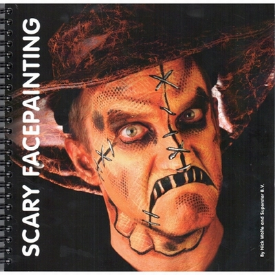 Boek Scary Facepainting by Nick Wolfe