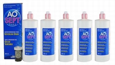 Lenzenvloeistof AOSept Plus Multipack  5 x 360ml