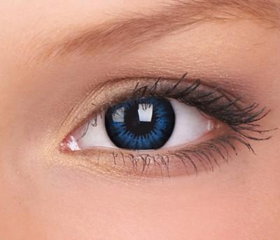 Big Eyes, Cool Blue, 15mm, 3 maandslenzen