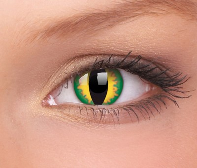 Crazy lenzen, Dragon Eyes - Green