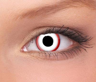 Terror Eyes funlenzen Saw White, jaarlenzen