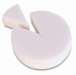 Latex grimeersponsjes / schminksponsjes  (8 stuks)