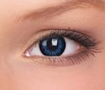 Big Eyes, Cool Blue mangalenzen, 15 mm, 3 maandslenzen