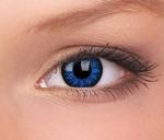 Glamour, Blue contactlenzen mangalenzen