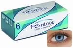 Kleurlenzen Freshlook Dimensions, 6-pack, Pacific Blue