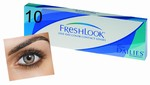 Kleurlenzen Freshlook One-Day, 10-pack, Groen