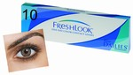 Kleurlenzen Freshlook One-Day, 10-pack, Pure Hazel