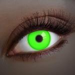Crazy lenzen, funlenzen Glow UV Green jaarlenzen