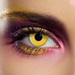 Terror Eyes, funlenzen Yellow, 3 maandslens