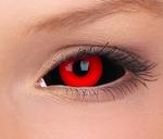 Sclera Gremlin funlenzen, zwart/rood, 6 mnd