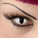 Funlenzen, TerrorEyes contactlenzen, Cat Eye / Viper wit
