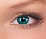 Crazy lenses, funlenzen, Green/groene  Monster