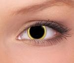 Terror Eyes funlenzen Solar Eclipse, 3 maanden draagbaar