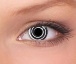 Terror Eyes funlenzen Black Spiral / Zwarte Spiraal